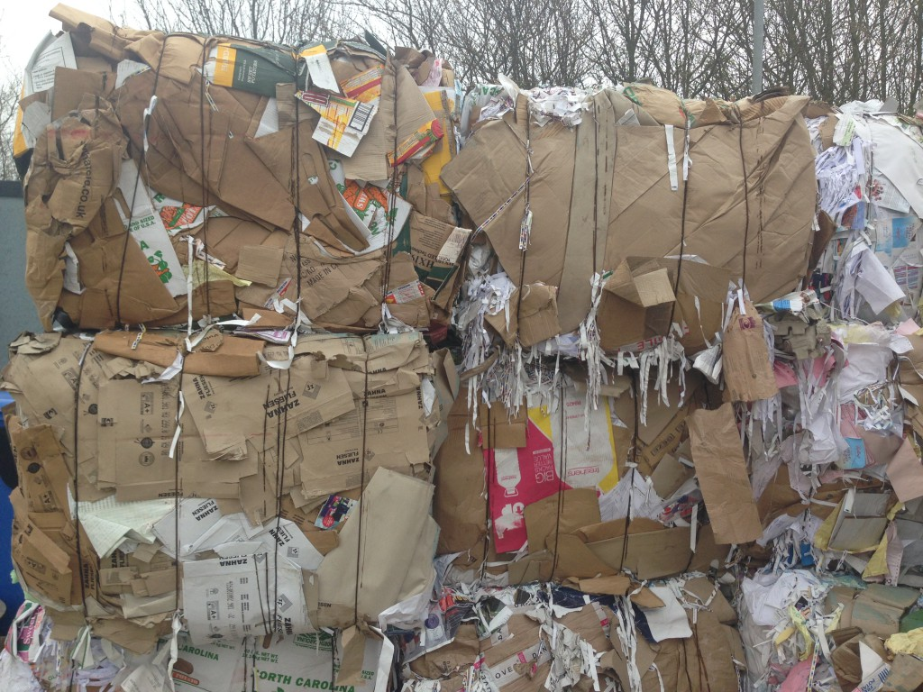 cardboard recycling prices