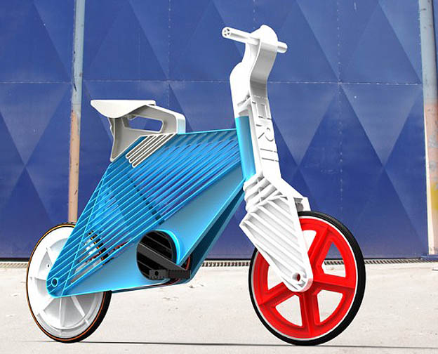 frii bike recycled plastic bicycle concepts